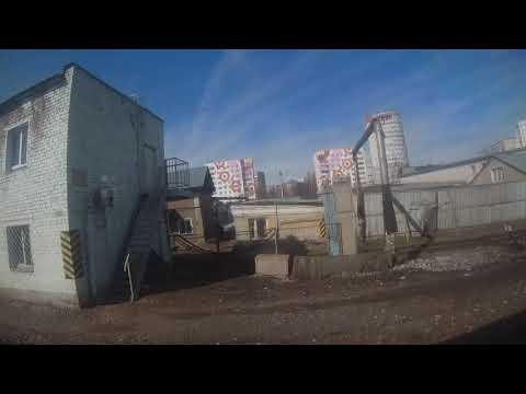 Станция Киров. Прибытие и отправление. Поезд 145 Санкт-Петербург-Челябинск 10 04 2019