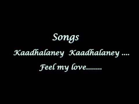 Kadhalane kadhalane .love feel Song ...presented to my mythili