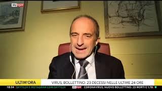 24 settembre 2020 - Dati e analisi emergenza coronavirus per Sky Tg24 a cura di Giorgio Sestili