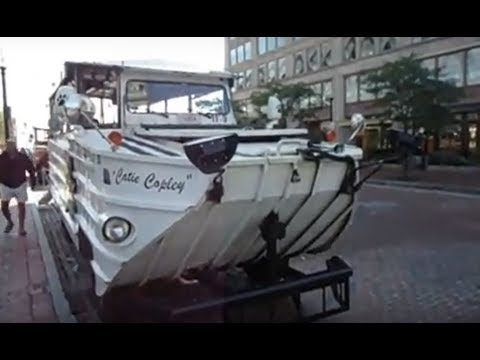 Boston Duck Tour - Financial District, Public Garden, North End, Charles River