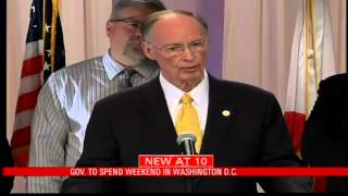 Gov. Bentley Spending Weekend in Washington