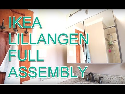 IKEA LILLANGEN Assembly and Full Build