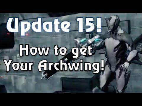 Getting an Archwing in Warframe!