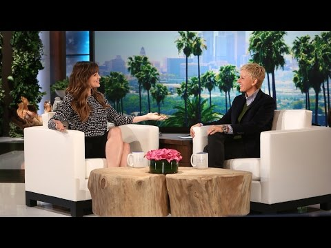 Jennifer Garner on Her Husband's Nude Scene
