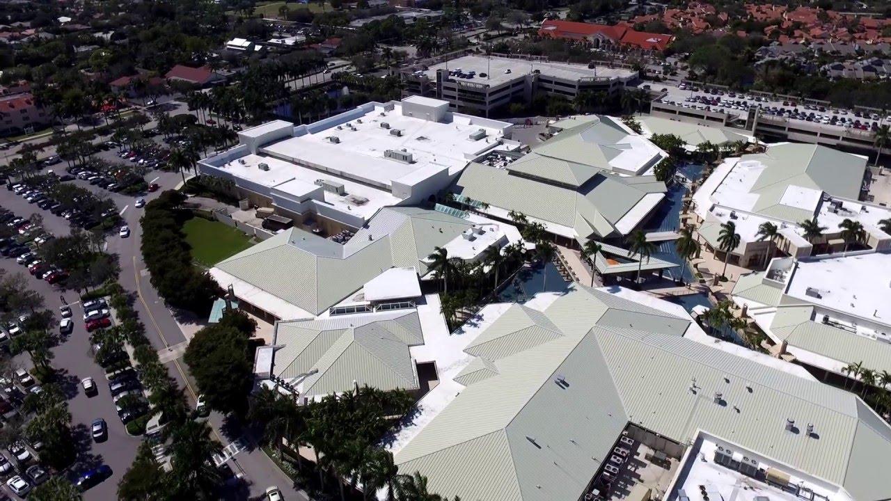 Waterside Shops - Naples Aerial Video