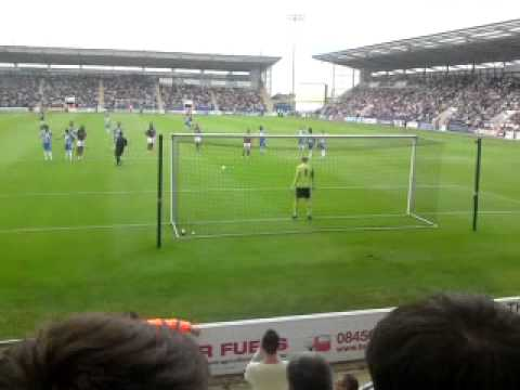 West Ham F.C Penalty against Colchester United F.C FRIENDLY 21/07/2012