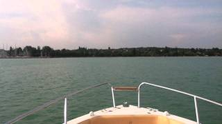 eolo 590 open with a 2 0 torqeedo cruise electric outboard motor
