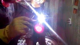 Ремонт поворотного кулака AUDI А6 (первая стадия)г.Липецк