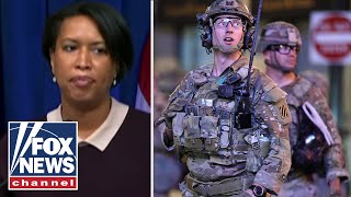 National Guard troops evicted from DC hotels with mayor's approval