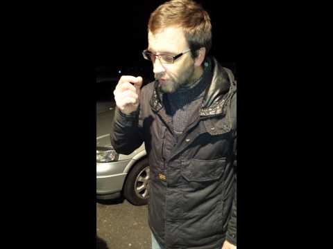 Funny Scottish man can't say purple burglar alarm