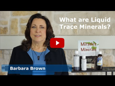 """What are Liquid Trace Minerals""?"