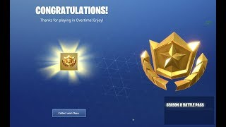 Got the Season 8 battle pass for Free! | overtime challenges |