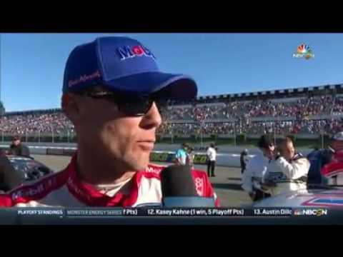 KEVIN HARVICK: 2017 Overton's 400 Post-Race Interview on NASCAR on NBC