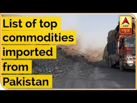 List Of Top Commodities Imported From Pakistan | ABP News