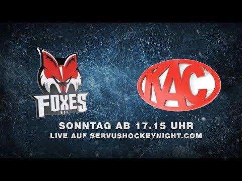 Bozen vs. Klagenfurt | 23.09. - 17:15 | Servus Hockey Night