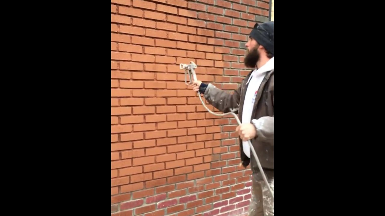 Painting Brick Exterior - Quality Painting Techniques - YouTube
