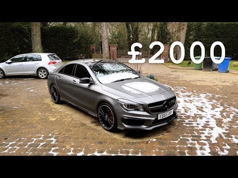 How I Got Insured On A CLA 45 AMG At 20