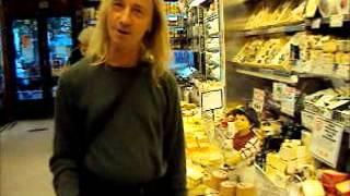 Charlie Visits Zabars Samplings NYC 2min