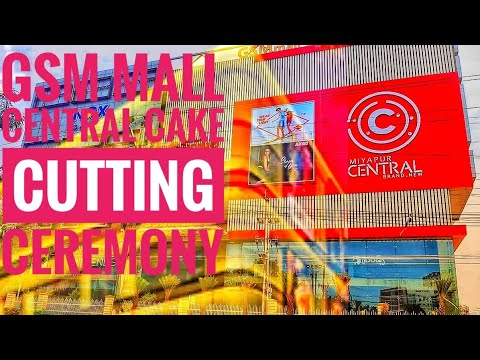 Gsm mall central opening ceremony..cake🎂 cutting