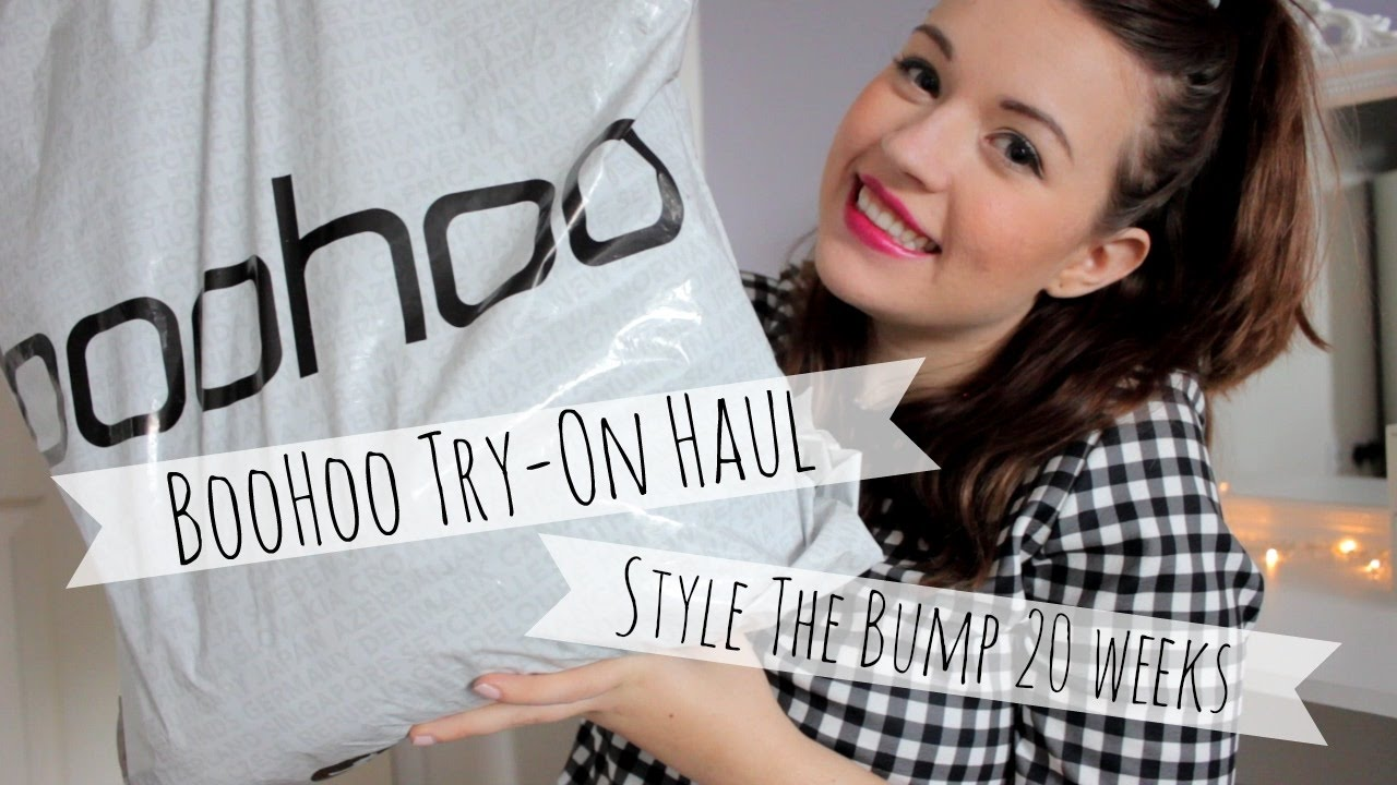 6dad2d27e032a Boohoo Sale Haul | Bumpstyle at 20 weeks | Maternity on a Budget ...