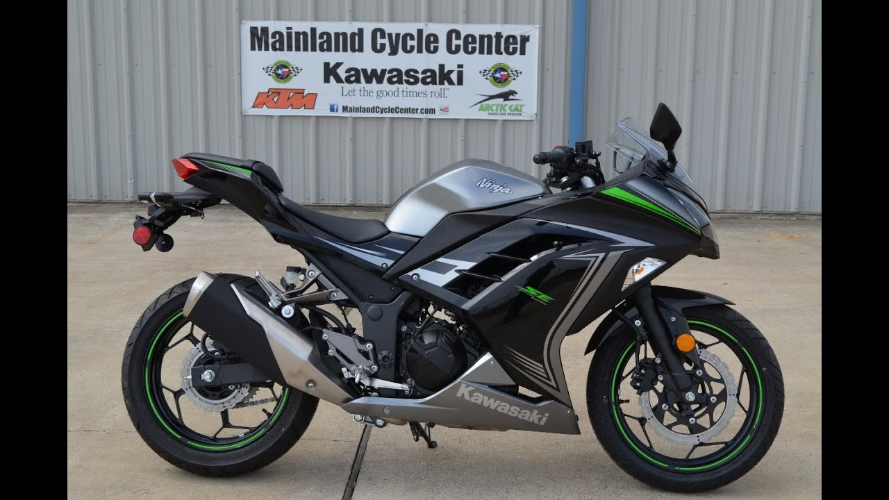 SALE $4,499: 2015 Kawasaki Ninja 300 Special Edition Gray Overview