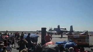 A-10 Thunderbolt (Warthog) Chico Air Show