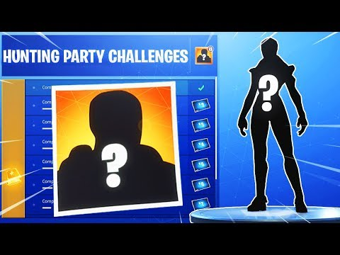 The New HUNTING PARTY SKIN In Fortnite! (SECRET Season 6 Hunting Party Challenges)