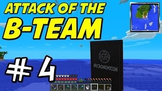 "Minecraft | Attack of the B-Team | E04 ""Book of Necromancy!"""