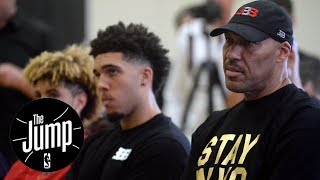 LaVar Ball pulls LiAngelo out of UCLA; Lakers enforce 'LaVar Ball rule'  The Jump  ESPN