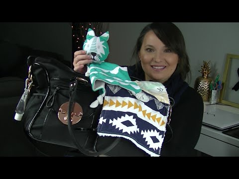 What's In My Mimco Baby/Nappy/Diaper Bag!