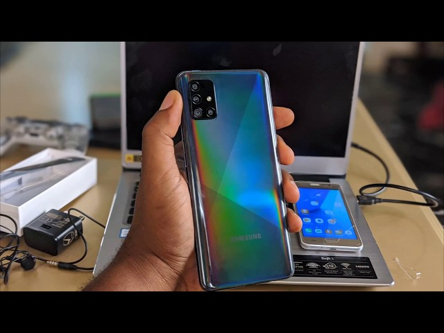Let's welcome the Samsung A51 to Nigeria