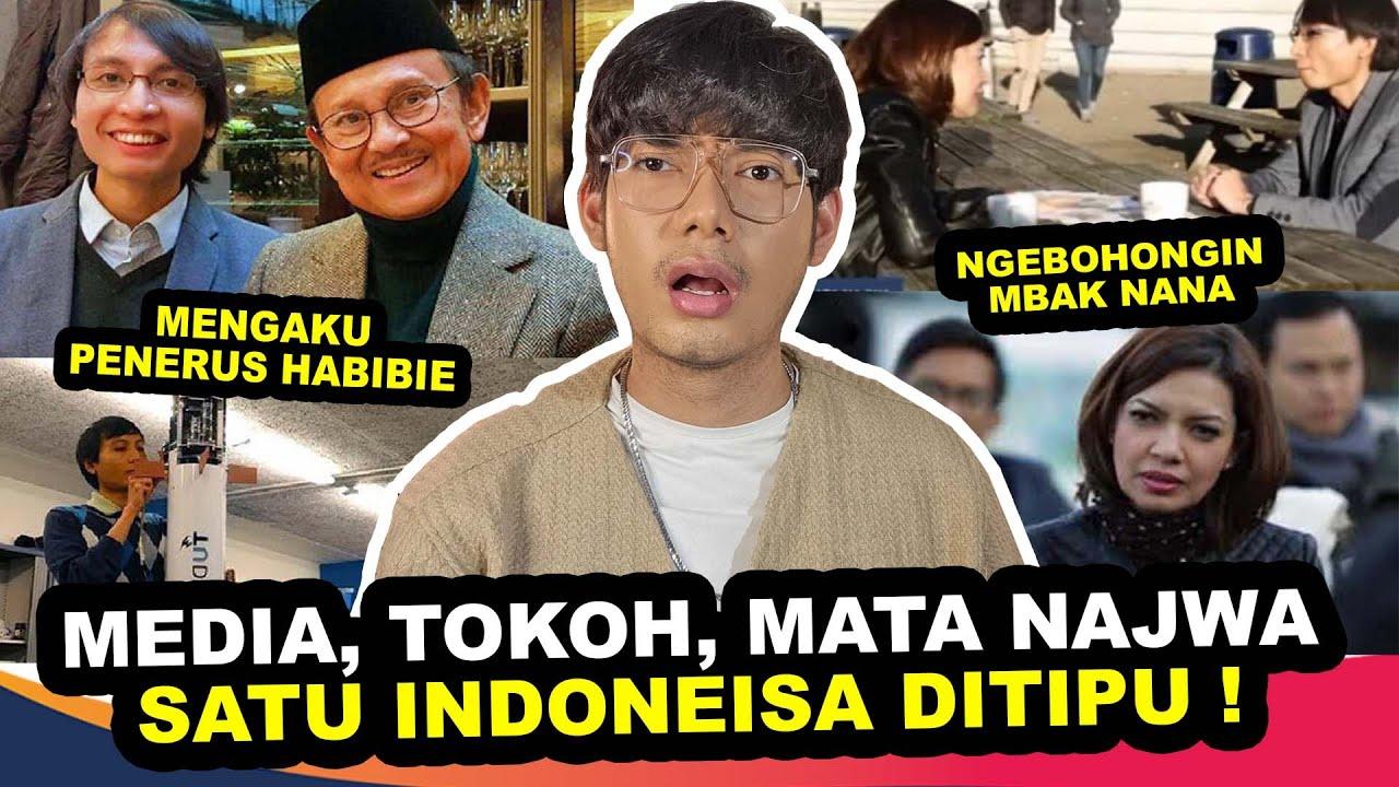 GAK NYANGKA🤡 NAJWA SHIHAB & SATU INDONESIA KENA PENIPUAN TERBESAR ORANG JENIUS INI