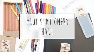 MUJI Stationery Haul~! ~ A Beautiful Fable