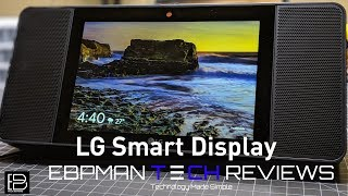 LG Smart Display WK9  Awesome Base and Rich Meridian Sound