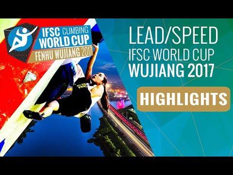 IFSC Climbing World Cup Wujiang 2017 - Lead Finals Highlights
