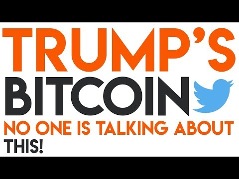 People Are Missing The Point Trump's Bitcoin Tweet 🧨