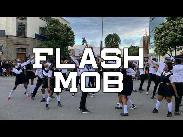 Flash Mob in Nakuru - Kenya || The Sarafina Play || Nairobi Performing Arts Studio || Nakuru Players