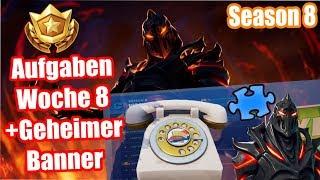 Wähle die Nummer von Durr Burger auf dem... | Aufgaben | Geheimer Banner | Fortnite Season 8 Woche 8