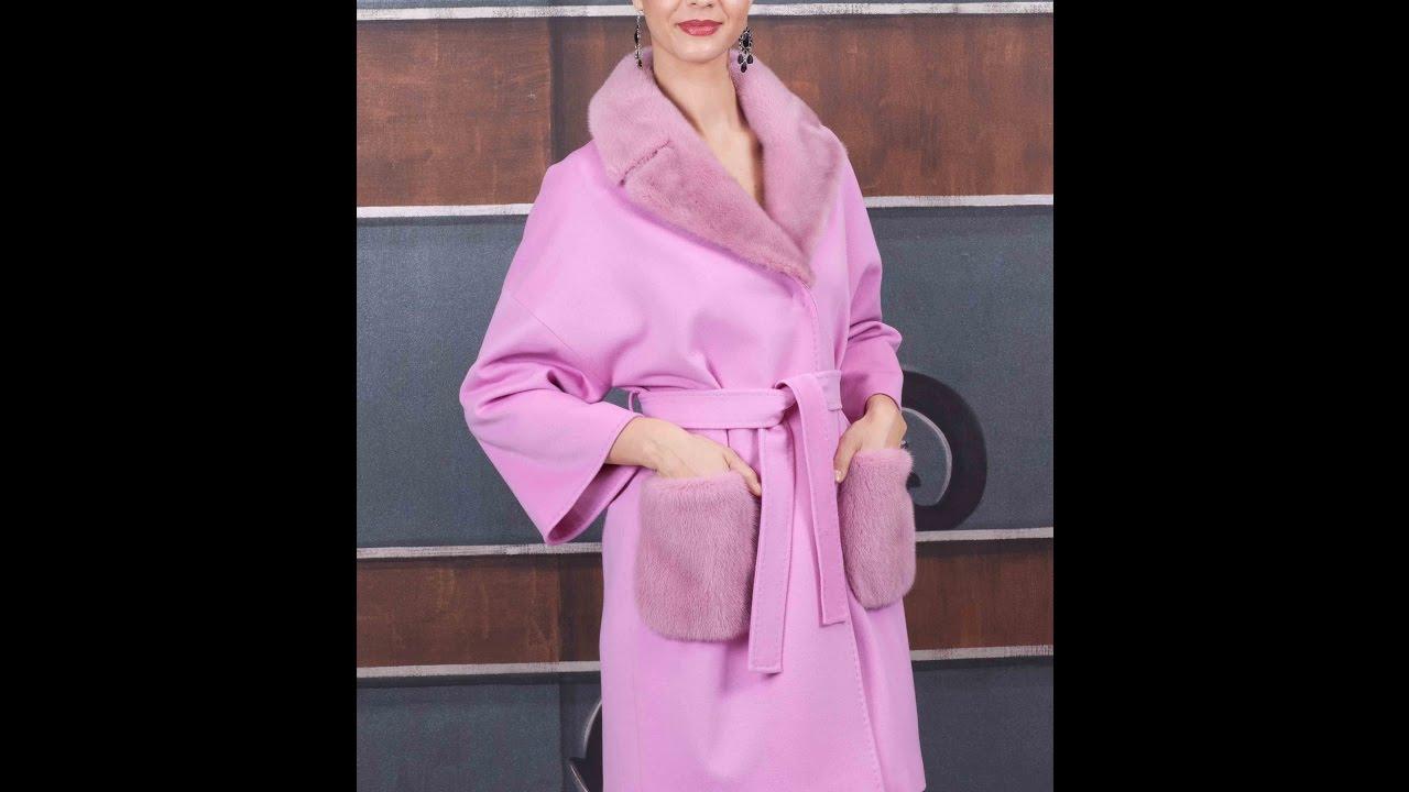 Женское Кашемировое Пальто - фото - 2018 / Women's cashmere coat .