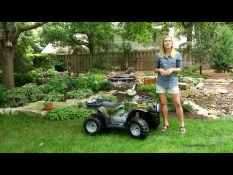 Fisher-Price Brute Force Camo Battery Operated ATV Riding Toy - Product Review Video