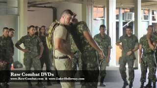 BRUTAL MILITARY KNIFE FIGHTING in BRAZIL