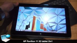 HP Pavilion 11 X2 tablet 2in1 hands-on