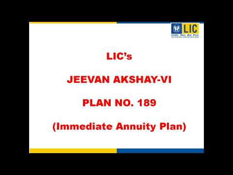 LIC Jeevan Akshay VI - Attractive, Immediate, Guaranteed Whole Life Pension Plan