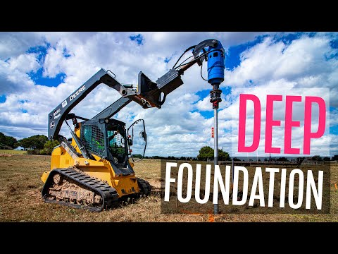 Is This The BEST FOUNDATION For Your New Home? Helical Piles Explained.