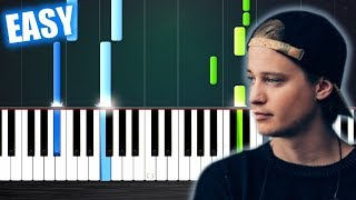 Kygo & Imagine Dragons - Born To Be Yours - EASY Piano Tutorial by PlutaX