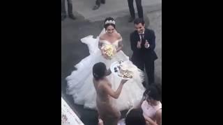 Невесту привезли в дом жениха / Свекровь кормит медом молодых / Армянская свадьба 2018