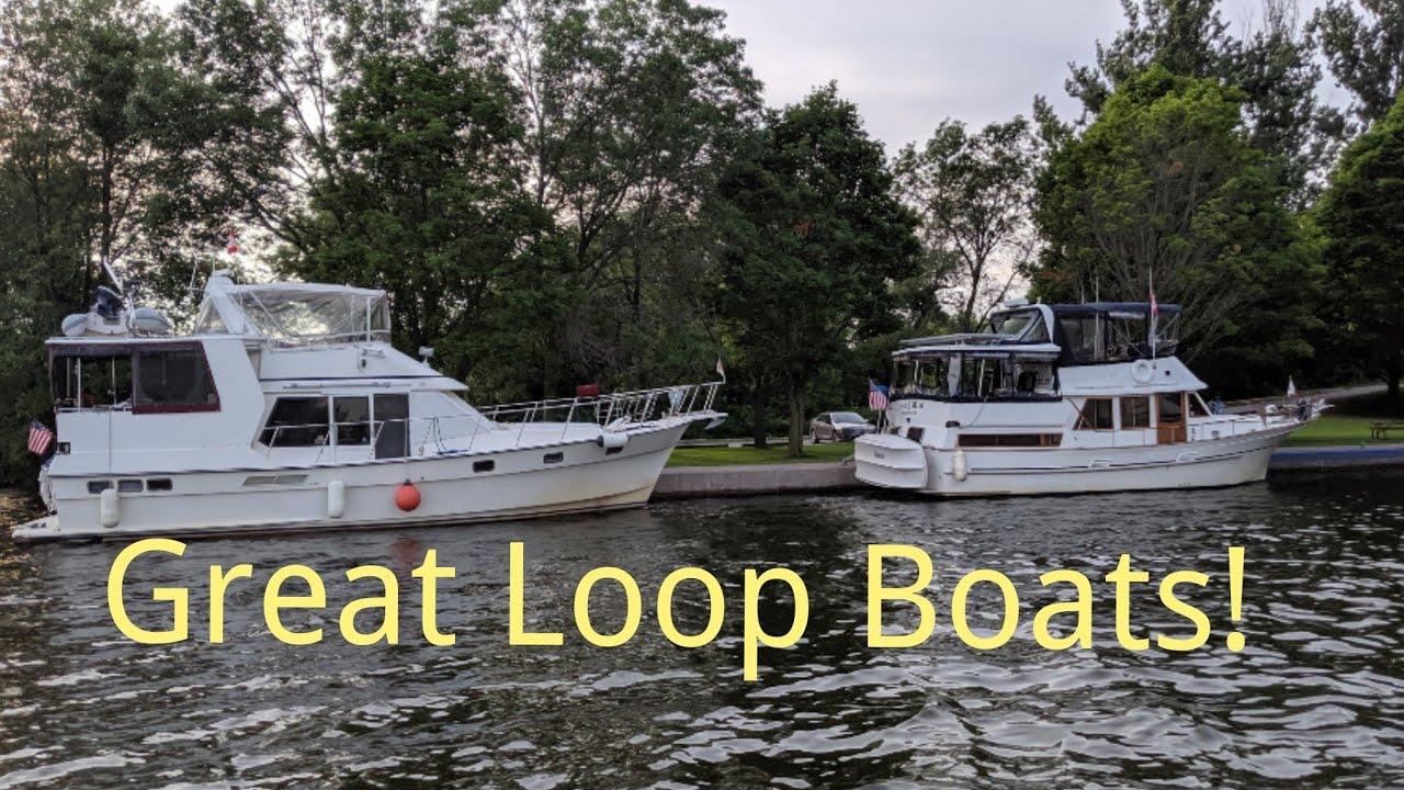 Great Loop & Looper Boats on the great loopers, caribbean sailing, great lakes sailing,