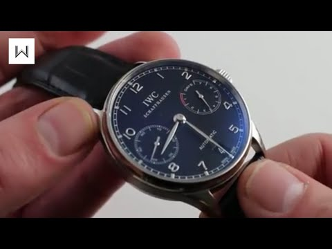 IWC Portuguese Automatic IW500109 Luxury Watch Review