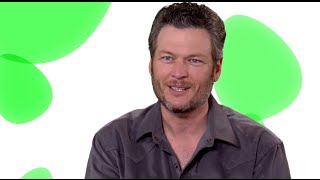 """Angry Birds Movie: Blake Shelton """"Earl"""" Sit Down Movie Interview"""
