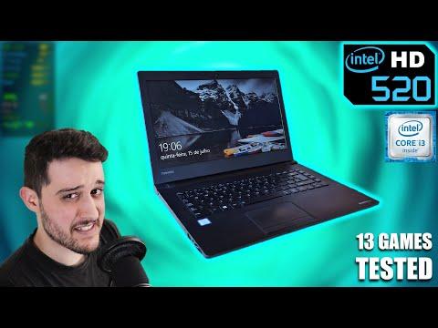 Intel HD 520 + i3 6100U   So I Finally tested Intel HD graphics...